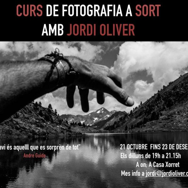 Curs de fotografia a Sort  amb Jordi Oliver